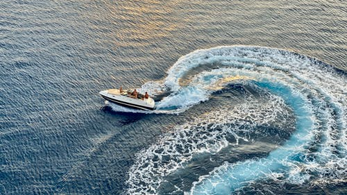Photo of Speed Boat on Sea