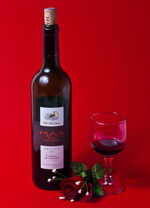 Gratis lagerfoto af rødvin