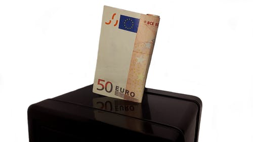 Free stock photo of 50 euro, assets, bank, bank robbery