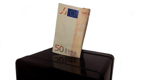 Kostnadsfri bild av 50 euro, Bank, bankrån, ekonomisk