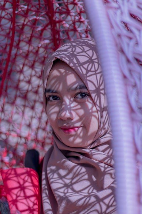 Kostenloses Stock Foto zu asiatin, hijab, portraitfotografie