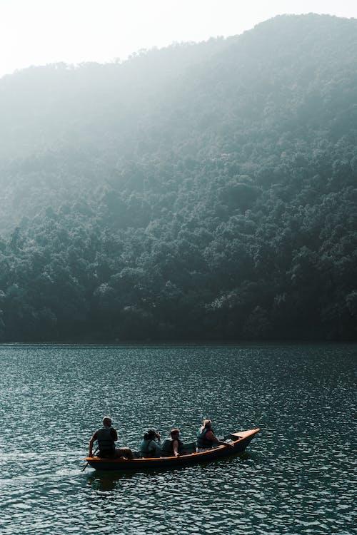 Free stock photo of Beautiful Scenery, blue sea, blue water, boat