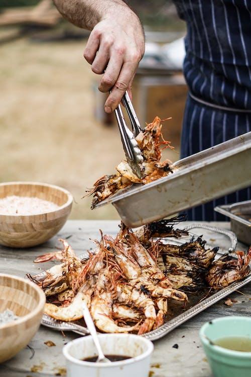 Imagine de stoc gratuită din adâncime de câmp, aperitiv, bucătărie, carne