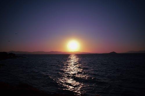 Ingyenes stockfotó Görögország, gyönyörű ég, madarak repülnek, nyár témában