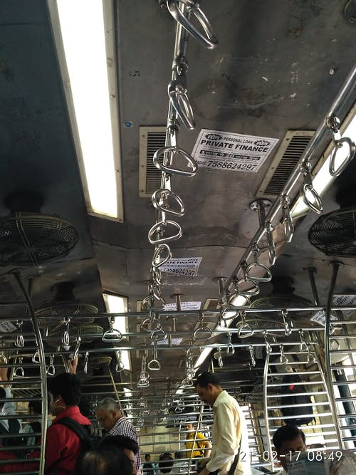 Free stock photo of Mumbai train