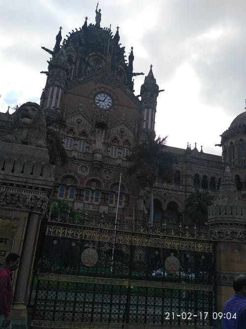 Free stock photo of Mumbai cst railway headquarter