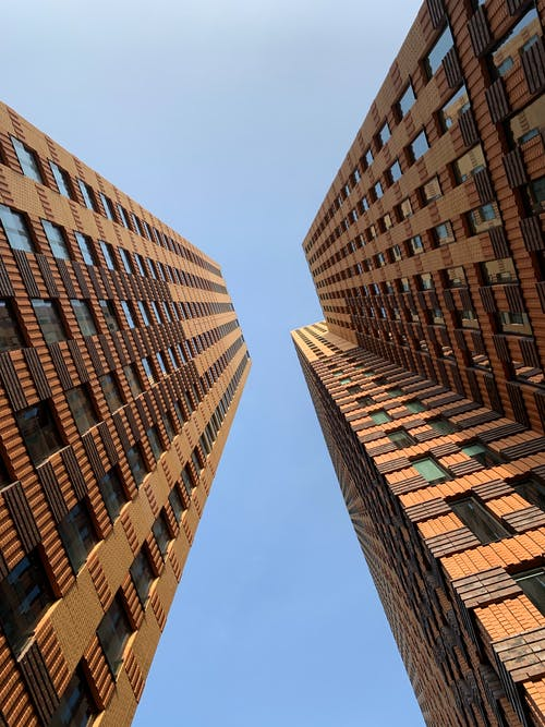 Kostnadsfri bild av arkitektonisk design, arkitektur, blå, blå himmel