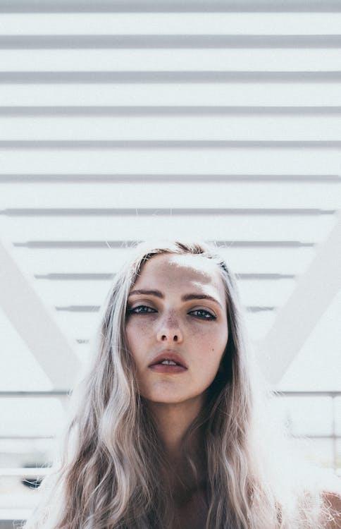 blondt hår, kvinne, langt hår