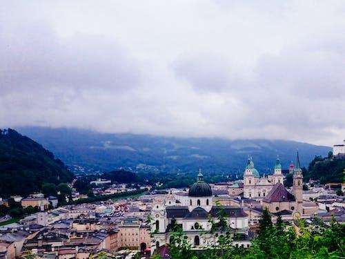 Free stock photo of austria, castle, city, cold