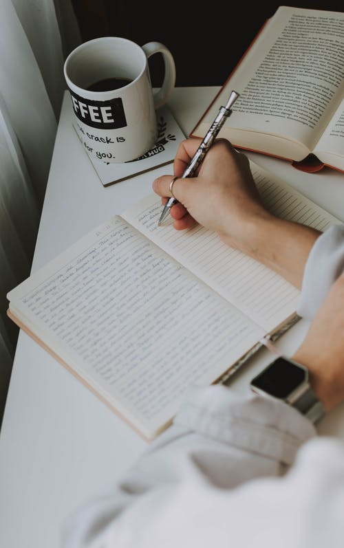 Gratis lagerfoto af komposition, noter, notesbog, skrive