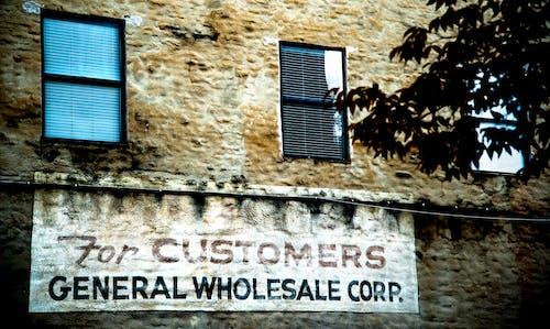 停車場, 標誌, 老, 老建築 的 免費圖庫相片