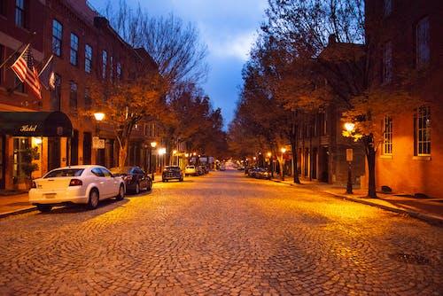 城市街, 秋天的心情, 鵝卵石街道 的 免費圖庫相片