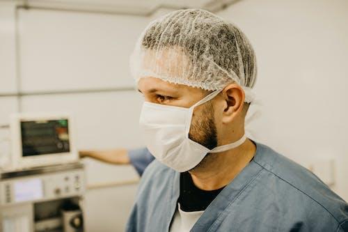Základová fotografie zdarma na téma muž, nemocnice, nosit, osoba