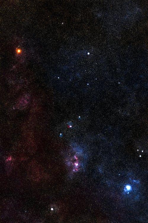 Kostenloses Stock Foto zu astrologie, erkundung, konstellation, kosmos