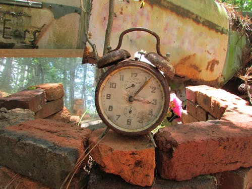 Free stock photo of alarm clock, clock, historic