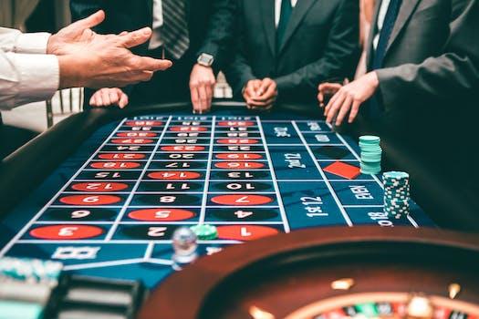 poker chip value