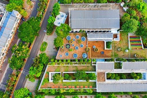 Photos gratuites de bâtiment, d'en haut, indonésie, photo aérienne
