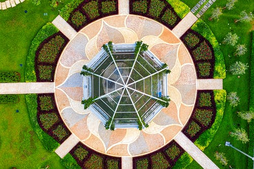 Bird's Eye View Of Green House