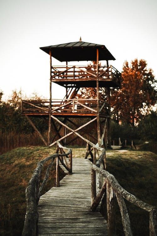Photos gratuites de architecture, bois, espace extérieur, passage