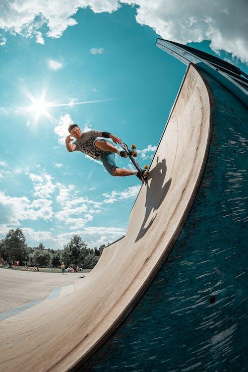 スケーター, スケート, スケートパーク, スケートボードの無料の写真素材