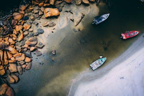 Fotobanka sbezplatnými fotkami na tému člny, deň, denné svetlo, dopravný systém