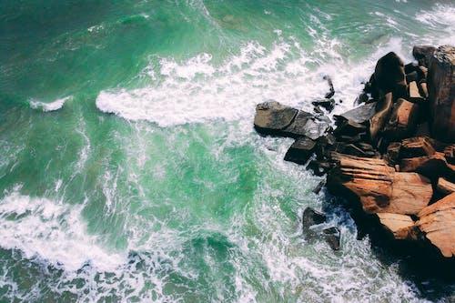Gratis arkivbilde med bølge, brytende bølge, hav, havbølger