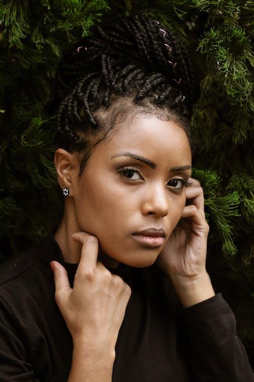 Fotobanka sbezplatnými fotkami na tému Afroameričanka, atraktívny, černoška, človek