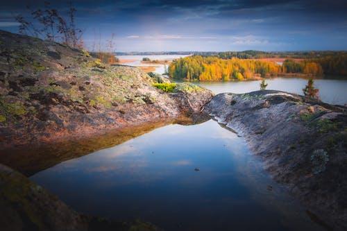 Free stock photo of autumn, blue, colours, Finland
