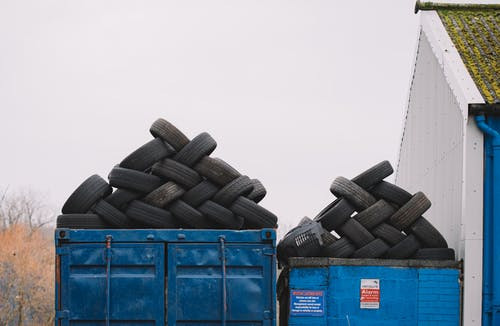 Pile of Vehicle Tires