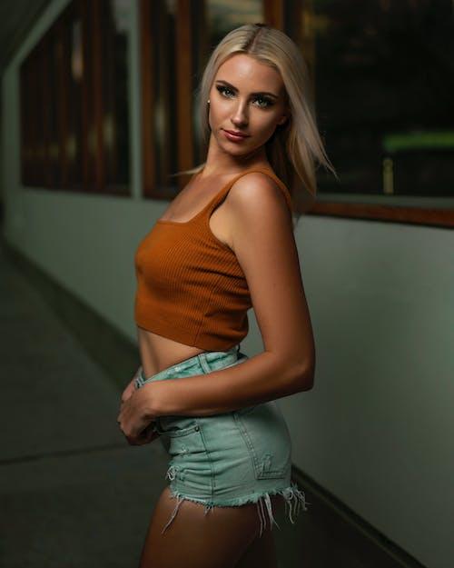 Immagine gratuita di donna, moda, modello