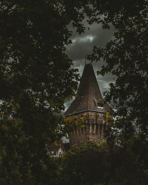 Free stock photo of Budapest, castle, clouds, dark