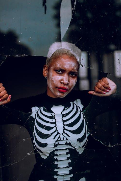 Free stock photo of dark, moody, skeleton