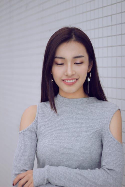 Gratis lagerfoto af smil, Smuk