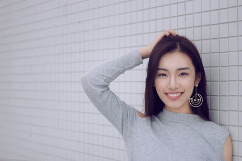 Free stock photo of attractive, chinese girl, smile
