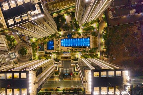 Imagine de stoc gratuită din aerian, amurg, arhitectură, arhitectură modernă