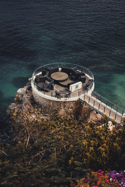 A Place For Relaxation on An Island