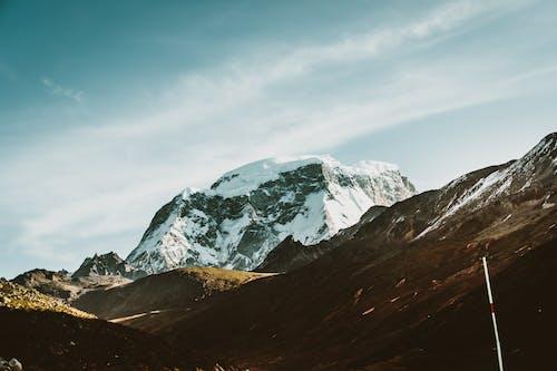 Безкоштовне стокове фото на тему «високий, гора, засніжений, застуда»