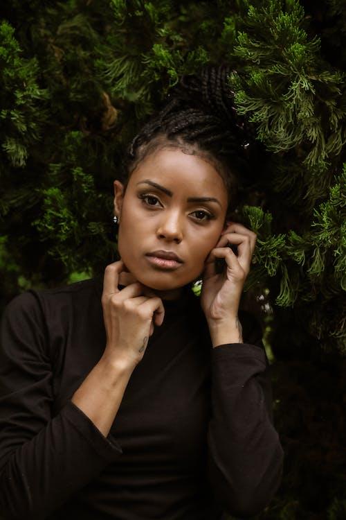 Fotobanka sbezplatnými fotkami na tému atraktívny, černoška, človek, deň