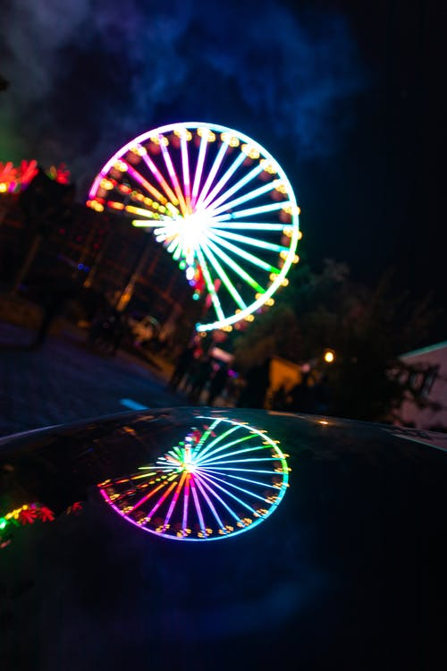 Photo Of Ferris Wheel During Evening