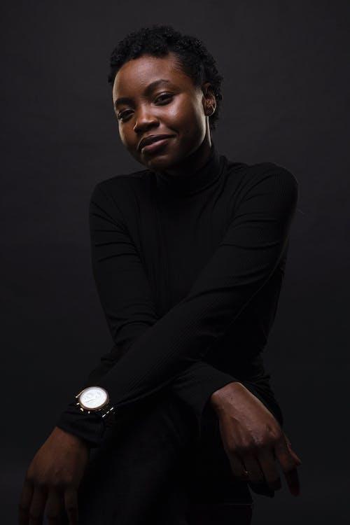 Základová fotografie zdarma na téma atraktivní, černoch, černoška, držení těla