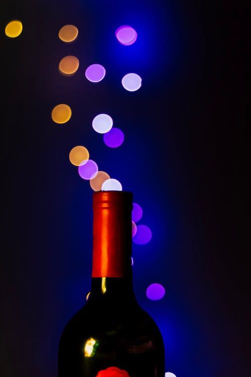 Gratis stockfoto met bokeh, drinken, lange blootstelling, wijn