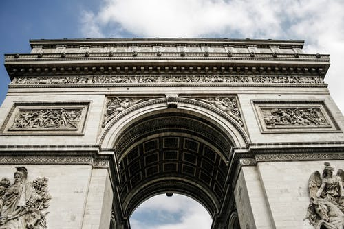 Low Angle Photography of Arc De Triomphe