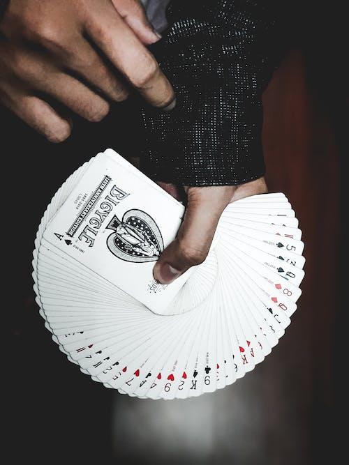 インドア, エース, おとこ, カードの無料の写真素材
