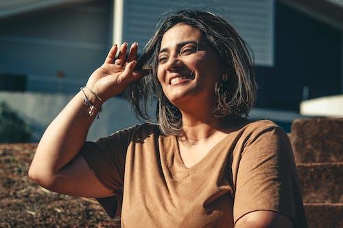Ingyenes stockfotó álló kép, arc, boldog nő, modell témában