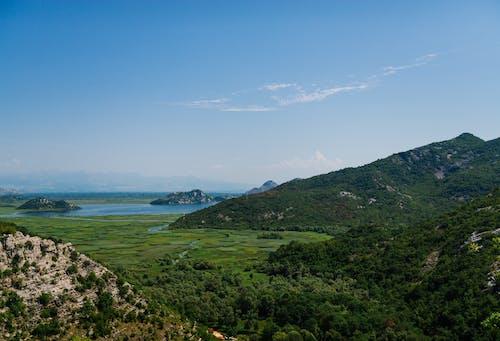Foto d'estoc gratuïta de a l'aire lliure, cel, exterior, muntanya