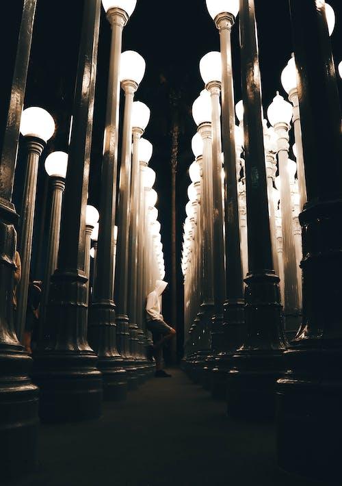 lacma, 洛杉磯, 燈光, 藝術 的 免費圖庫相片