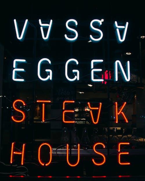 Free stock photo of dark, house, neon, neon sign