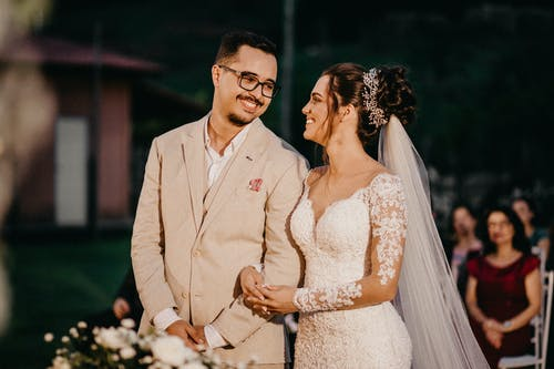 Immagine gratuita di abito, affetto, amore, bouquet da sposa