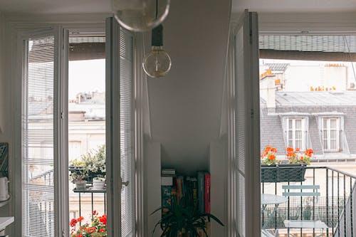 Doors Opening To A Balcony
