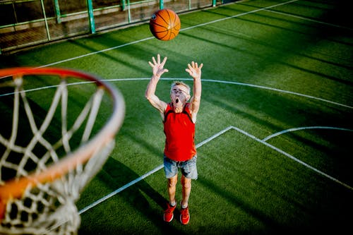 Photos gratuites de amusement, balle, basket-ball, court
